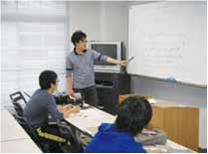 数学の内容とともに、その指導法を学びます